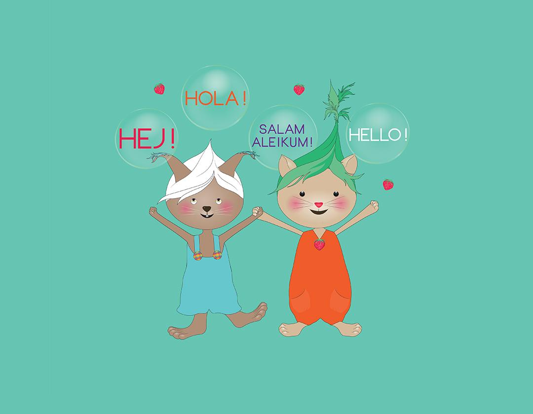 Lukulumon avulla lapset voivat kehittää äidinkieltään - oli se mikä tahansa!