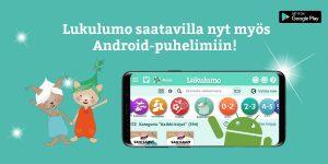 Android Lukulumo sovellus