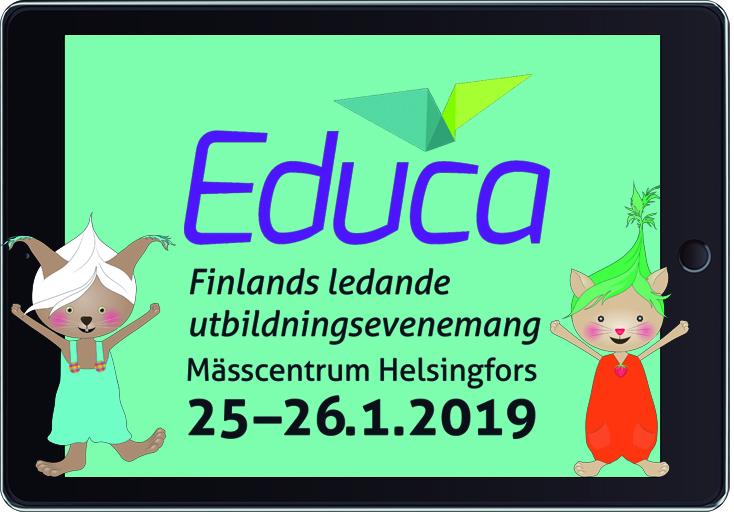 Lukulumo är med på Educa-mässan i Helsingfors!