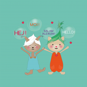 Lukulumon kirjoja voit kuunnella monilla kielillä!