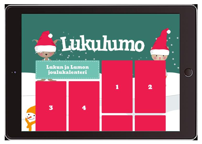 Tilaa Lukulumon ilmainen joulukalenteri!