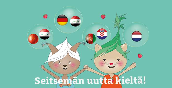 Seitsemän uutta kieltä Lukulumossa!
