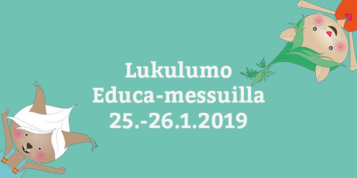 Lukulumo Educa-messuilla!