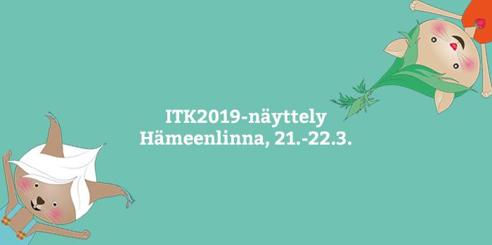 Lukulumo Hämeenlinnan ITK-näyttelyssä!