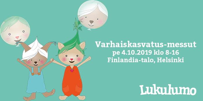 Tutustu Lukulumoon Varhaiskasvatus-messuilla Helsingissä!