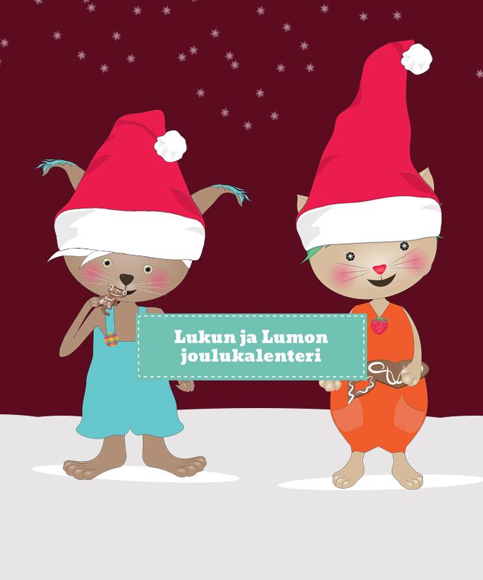 Lukun ja Lumon joulukalenteri